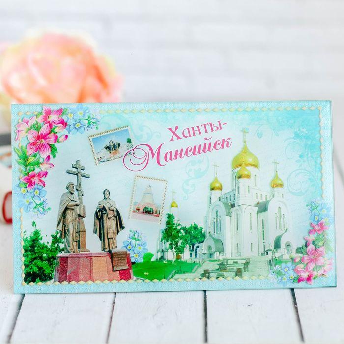 Настольная картина «Ханты-Мансийск»