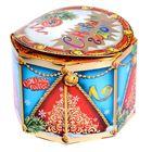 Складная коробка «Заяц с барабаном», 17 × 17 × 12.5 см
