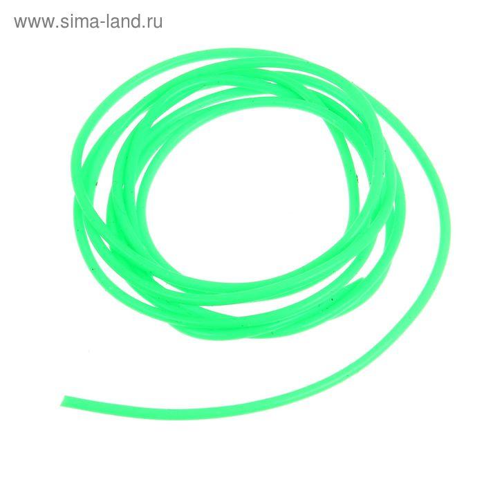 Кембрик d0.8*1.5 флуор. зеленый набор 10шт (Три кита)