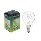 Лампа накаливания Favor ДШ, Е14, 40 Вт, 230 В
