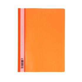 Папка-скоросшиватель А4, 140/180 мкм, оранжевая