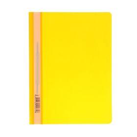 Папка-скоросшиватель А4, 140/180 мкм, жёлтая