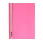 Папка-скоросшиватель А4, 140/180мкм Hatber, розовая