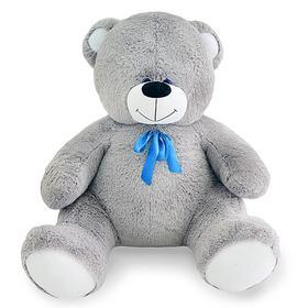 Мягкая игрушка «Мишка Кузя», 120 см, цвет серый