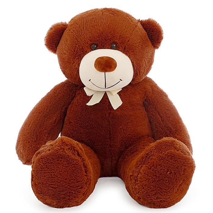 """Мягкая игрушка """"Мишка Федор"""", цвет коричневый, 105 см"""