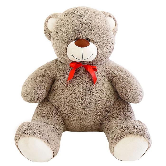 Мягкая игрушка «Мишка Кузя», цвет светло-коричневый, 120 см