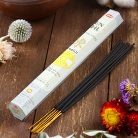 """Благовония HEM """"Feng Shui Metal. Металл"""", 20 палочек в упаковке, шестигранник"""