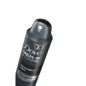 Антиперспирант Dove Men + Care Invisible Dry «Защита без белых следов», аэрозоль, 150 мл - фото 7378233