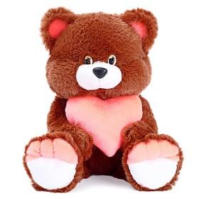 Мягкая игрушка «Медведь Романтик» с сердцем, МИКС
