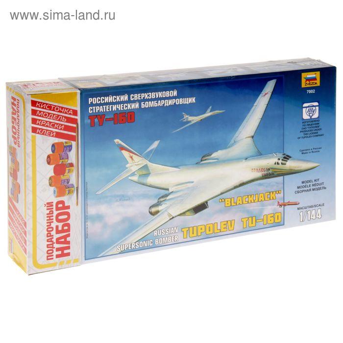 """Сборная модель """"Самолёт Ту-160"""""""