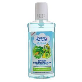 Children's mouthwash for Drakosha's mouth