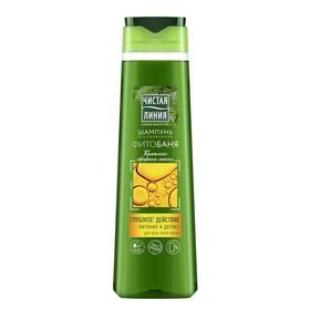 Шампунь Чистая линия «Фитобаня», для всех типов волос, 400 мл