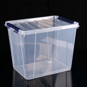 Контейнер для хранения с крышкой «Профи», 25 л, 41×30×31 см, цвет МИКС