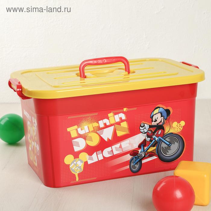 """Ящик для игрушек 15 л """"Disney для мальчиков"""", цвет МИКС"""