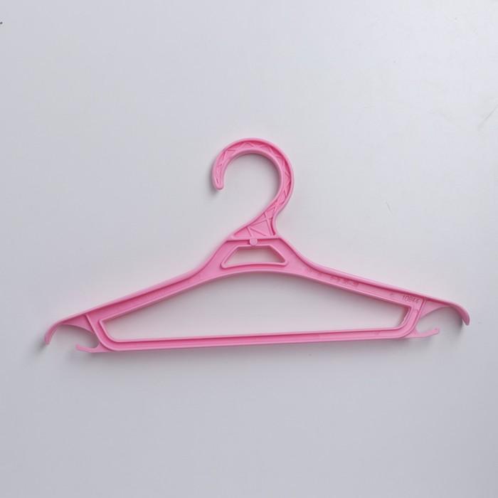 Вешалка-плечики для одежды, размер 36-38, цвет МИКС - фото 1717606