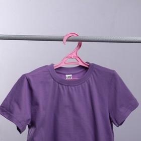 Вешалка-плечики для одежды, размер 36-38, цвет МИКС - фото 1717609