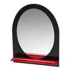 """Зеркало в ванную комнату 80×60 см """"Ассоona A621"""", 1 полка"""