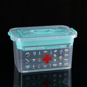 First-aid kit with 10 l insert