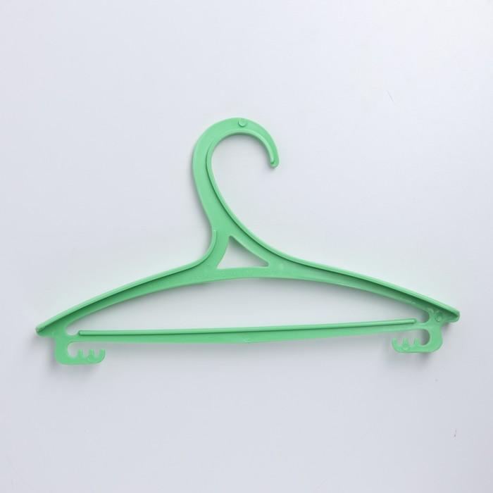 Вешалка-плечики для одежды детская, размер 30-34, цвет МИКС - фото 1717610