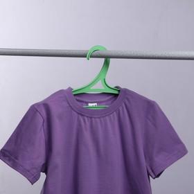 Вешалка-плечики для одежды детская, размер 30-34, цвет МИКС - фото 1717611