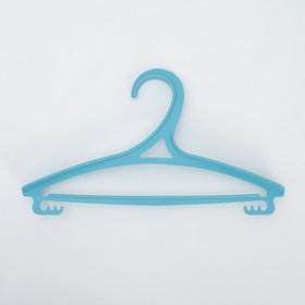 Вешалка-плечики для одежды детская, размер 30-34, цвет МИКС - фото 1717613
