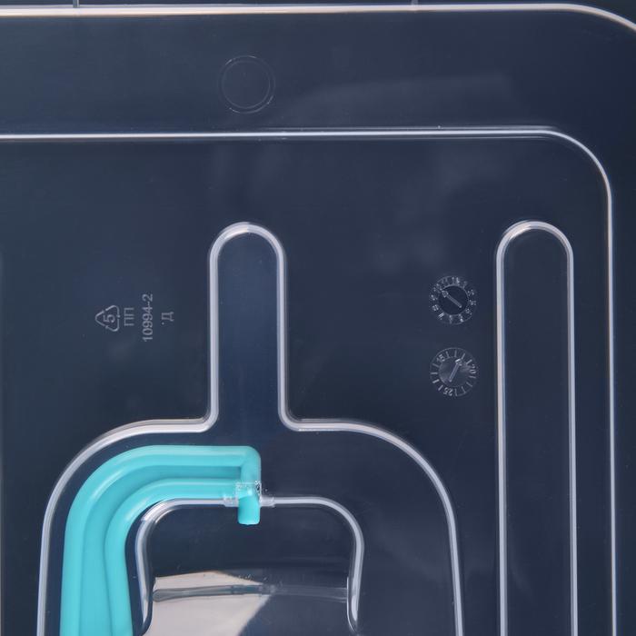 """Контейнер для хранения с вкладышем 10 л """"Рукоделие"""", цвет МИКС"""