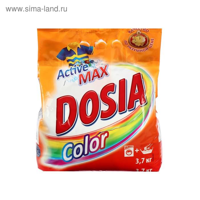 Порошок стиральный Dosia Color синтетическое, порошкообразное, 3,7 кг