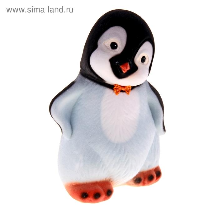 """Копилка """"Пингвинёнок"""" флок, чёрная"""