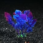 Растение искусственное аквариумное Людвигия, 10 см