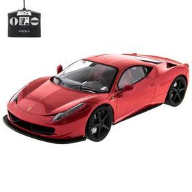 Машина на радиоуправлении Ferrari F458 Italia, масштаб 1:14, МИКС