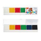 Акварель медовая «Спектр Акварелька», 6 цветов, в пластиковой коробке