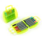 Фломастеры 12 цветов МИНИ в пластиковой сумочке,МИКС