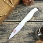 """Нож с антиналипающим покрытием """"Вайт"""" лезвие 8,5 см, цвет белый"""