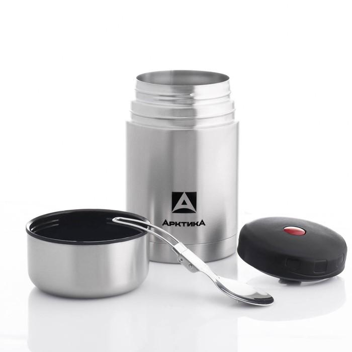 """Термос """"Арктика"""", 750 мл, вакуумный, с широким горлом, в чехле, микс"""