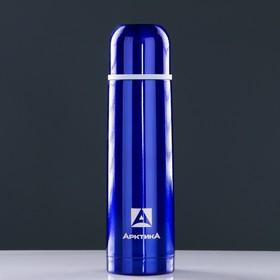 "Термос ""Арктика"", 500мл, вакуумный синий, микс"