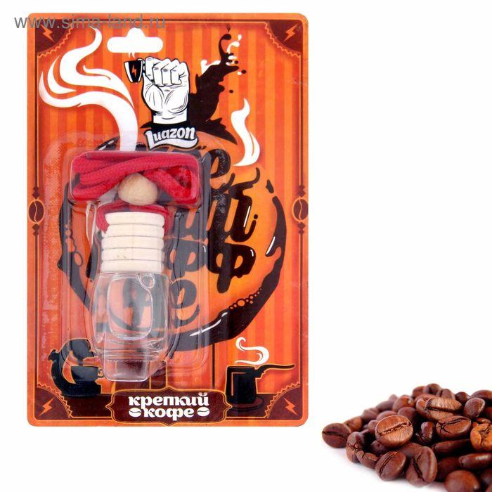 """Ароматизатор подвесной в бутыльке """"Крепкий кофе"""", 9 х 13 см"""