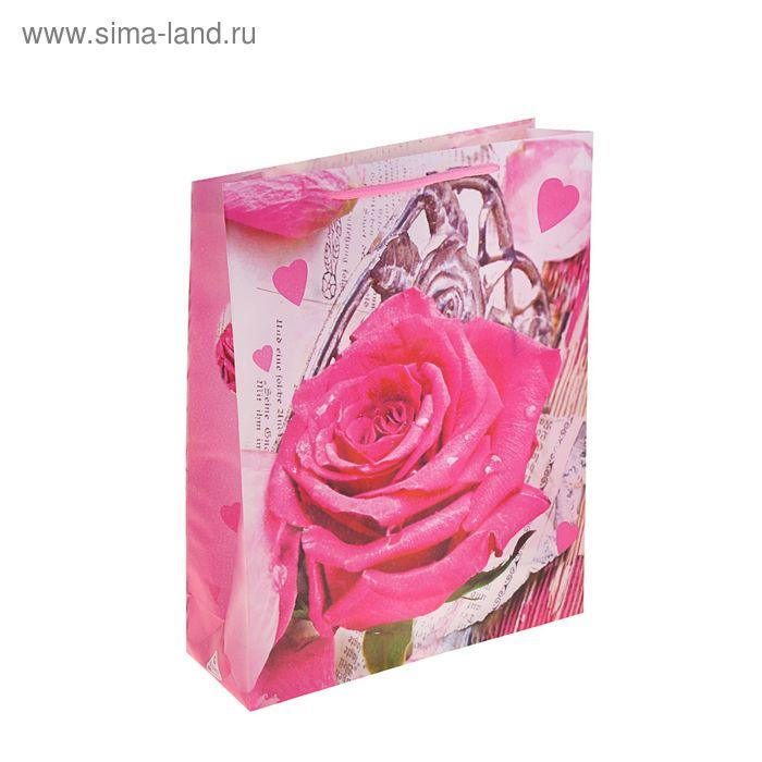 """Пакет пластиковый """"Роза"""""""
