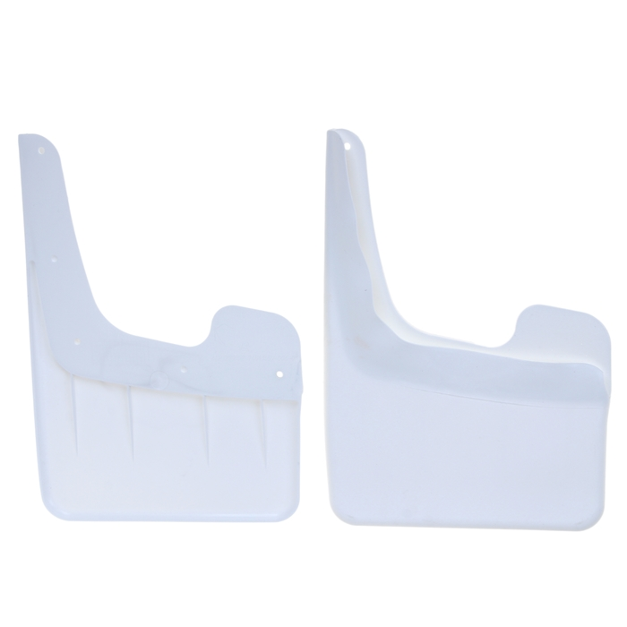 Брызговики универсальные АЕР, большие, белые, набор 2 шт.