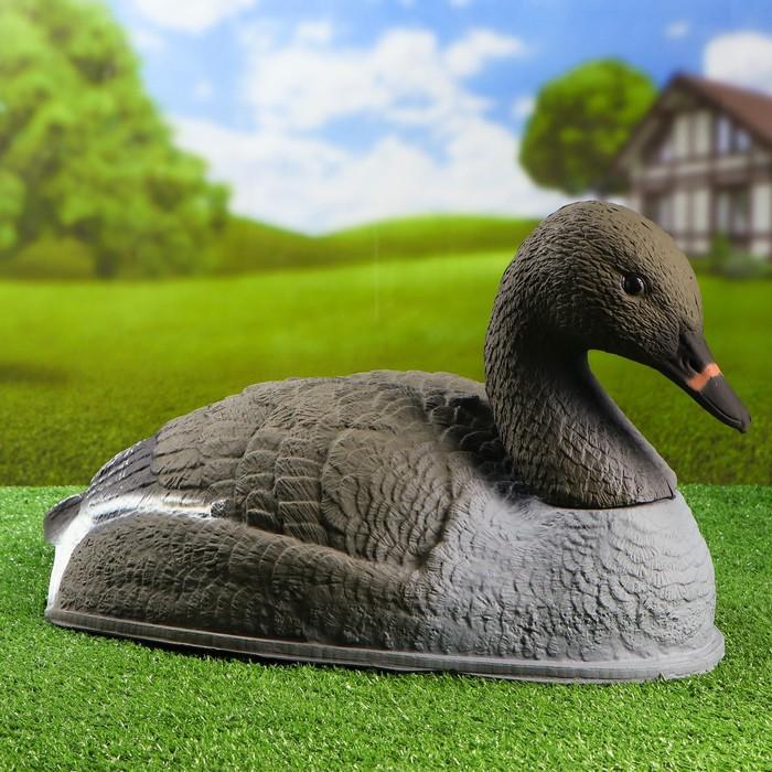 "Figure decoy ""Resting goose bean goose"" polucarpus"