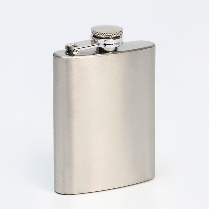 Flask for the application, 105 ml, chrome