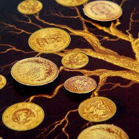 "Feng Shui painting ""Money tree of prosperity"""