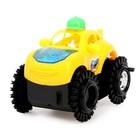 Машина-перевёртыш «Джип», работает от батареек, цвета МИКС - фото 106524736