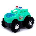 Машина-перевёртыш «Джип», работает от батареек, цвета МИКС - фото 106524737