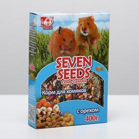 Корм SEVEN SEEDS SPECIAL для хомяков, с орехом, 400 г