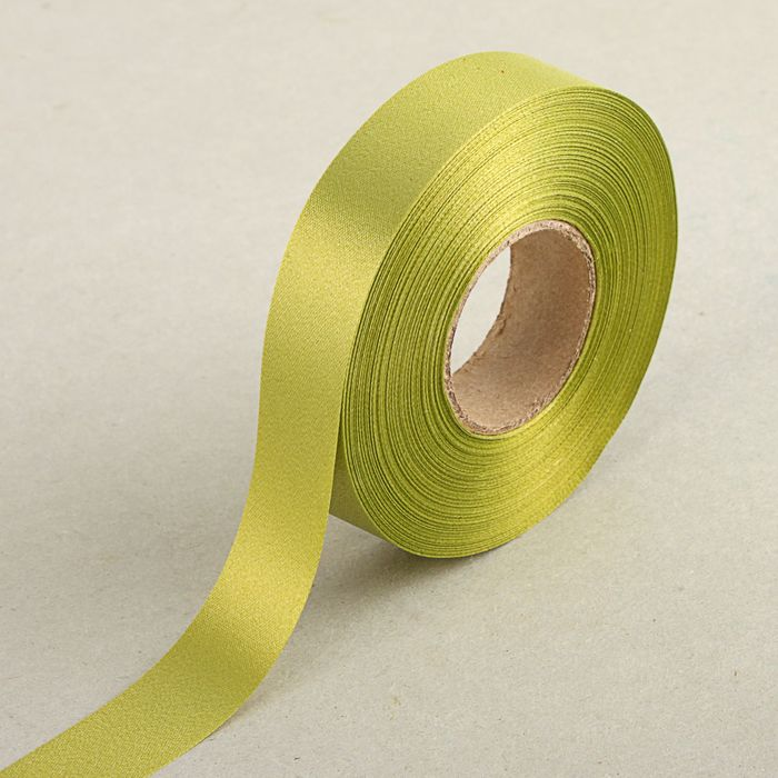 Ribbon for decorations and gifts, khaki, 2 cm x 45 m