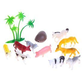 Набор животных «На ферме», 10 фигурок с аксессуарами