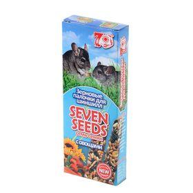Палочки Seven Seeds special для шиншилл, овощи, 2 шт, 100 г