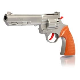 Пистолет «Рейнджер плюс голд», стреляет 8-ми зарядными пистонами, цвета МИКС