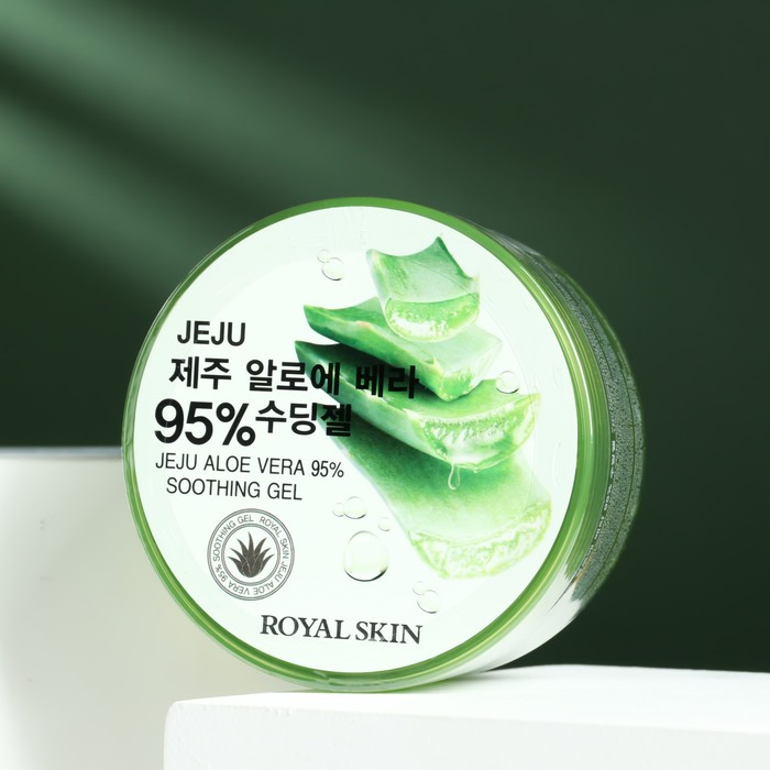 Multifunctional gel for face and body with 95% Aloe Royal Skin, 300 ml.