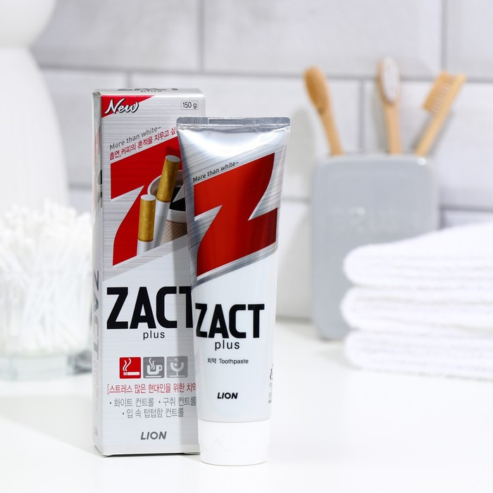 Zact Lion Toothpaste Whitening, 150 g.